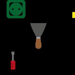 Logo Homeservice, Helmut, Aigner, Kleinreparaturen, Kleinarbeiten und Handwerkstätigkeiten, Haus, Garten, Wohnung, Firma, Betrieb